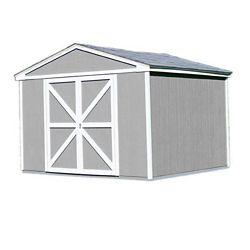 Handy Home Products Somerset Trousse d'abri de rangement avec plancher (10 Pi. X 8 Pi.)