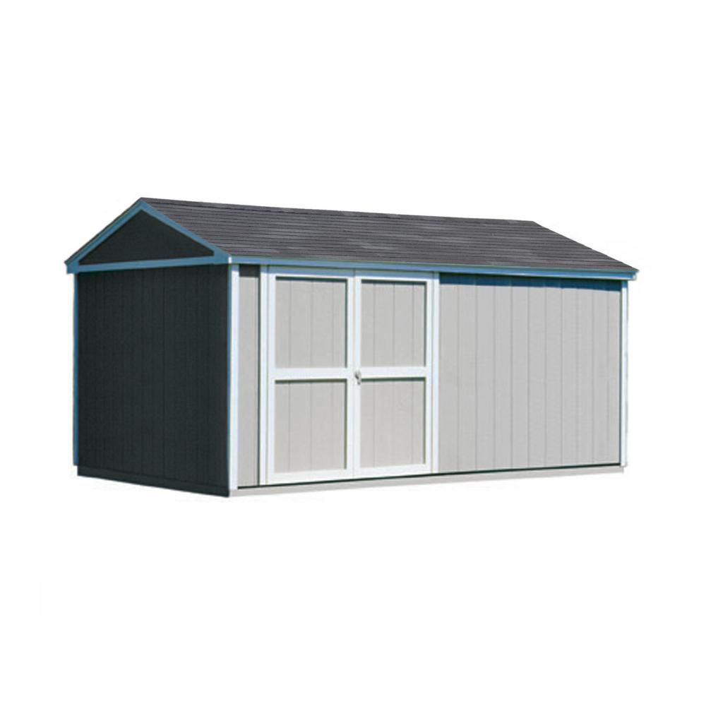 Somerset Storage Building Kit with Floor -   (10 Ft. x 16 Ft.)