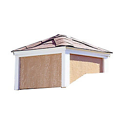 Handy Home Products Large Cupola - Fits 12 ft. W Buildings