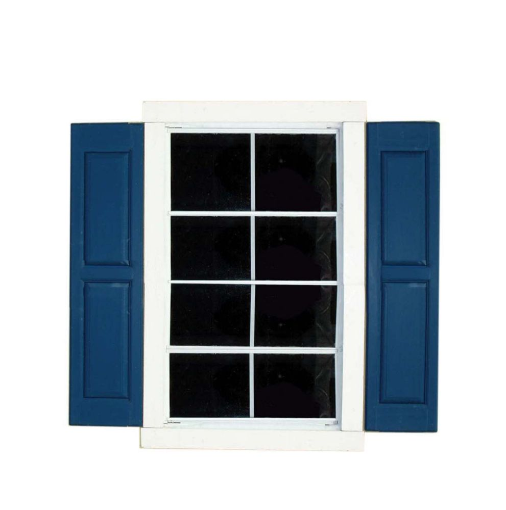 Small Square Window Shutters (Pair)