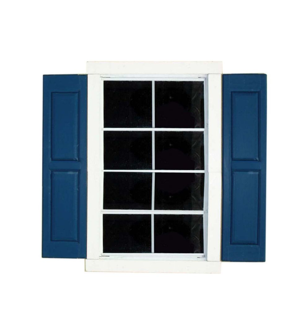 Large Square Window Shutters (Pair)