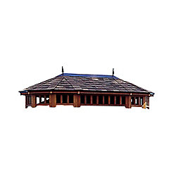 Handy Home Products Monterey 10 ft. x 14 ft. Two Tier Roof