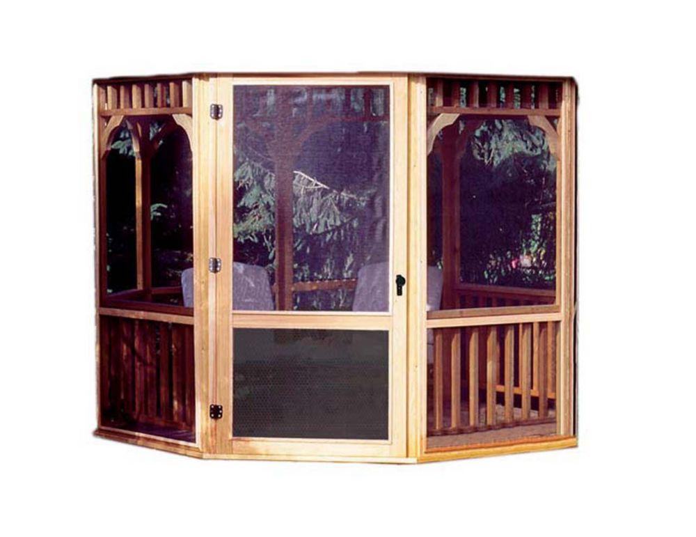 Monterey 10 ft. x 14 ft. Screen Kit with Door