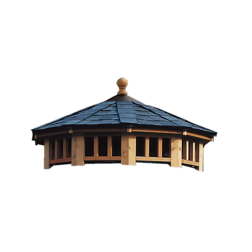 San Marino 10 Feet - Two Tier Roof