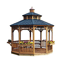 Handy Home Products San Marino 12 ft. Round Gazebo