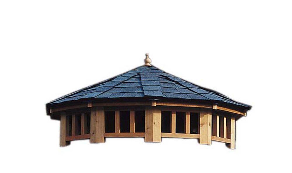 San Marino 12 Feet - Two Tier Roof