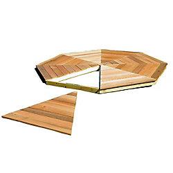 Handy Home Products Plancher de belvédère San Marino 12 pi (3,6m)