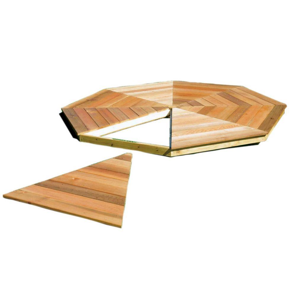 Plancher de belvédère San Marino 12 pi (3,6m)