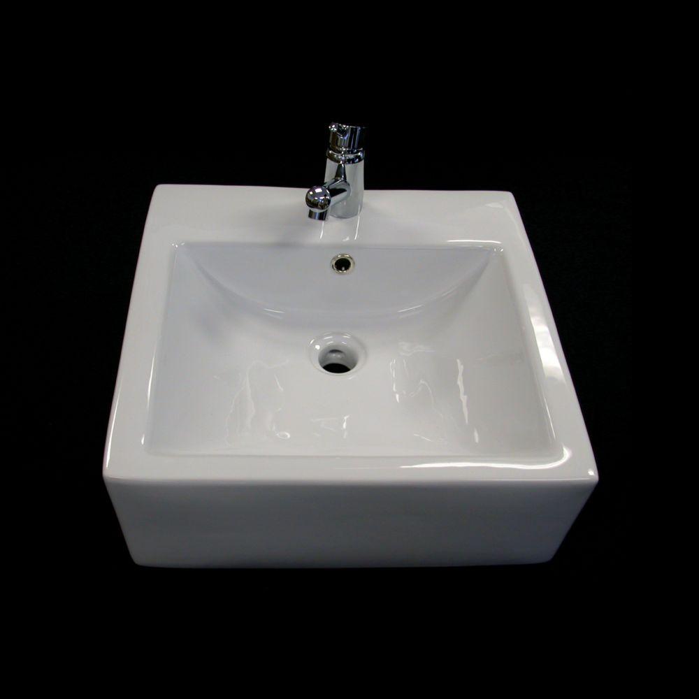 Acri-Tec Square Countertop Vessel Sink