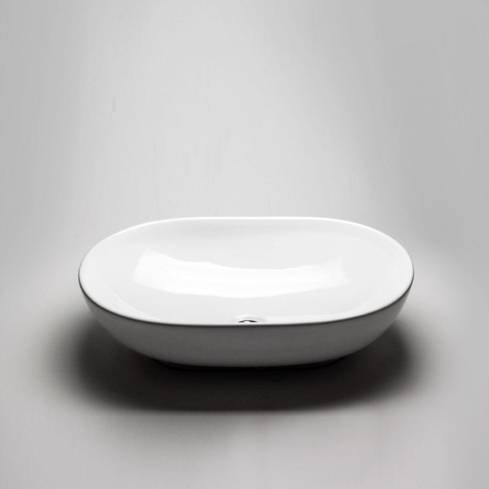 Oval Countertop Vessel Sink