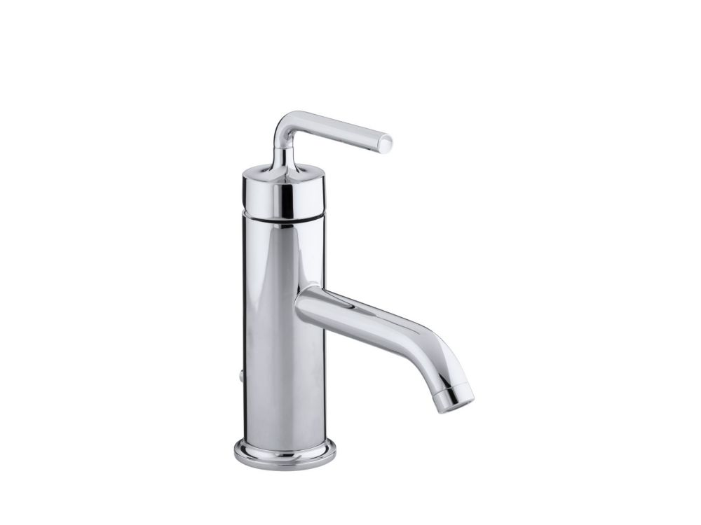 Purist Single-Control Bathroom Faucet in Polished Chrome Finish