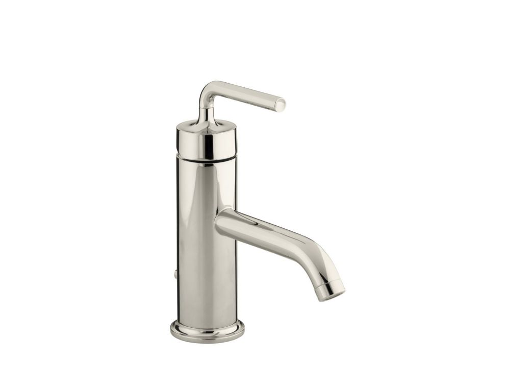 Purist Single-Control Bathroom Faucet in Vibrant Polished Nickel Finish