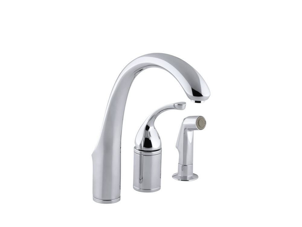 KOHLER Forté Single-Control Remote Valve Kitchen Sink ...