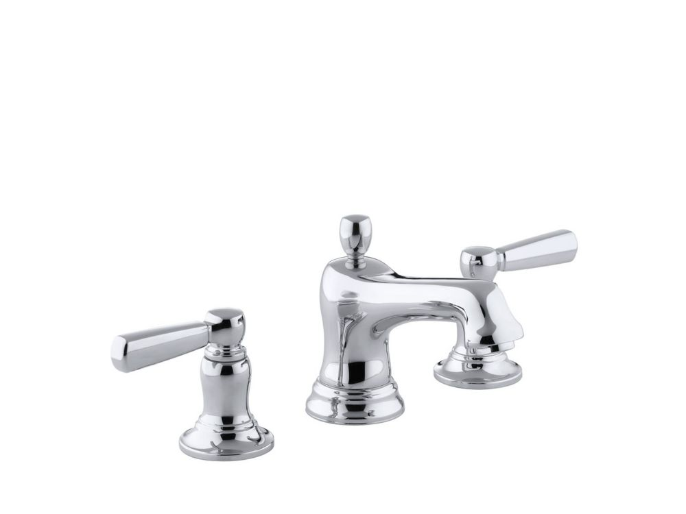 Bancroft Widespread Bathroom Faucet in Polished Chrome Finish