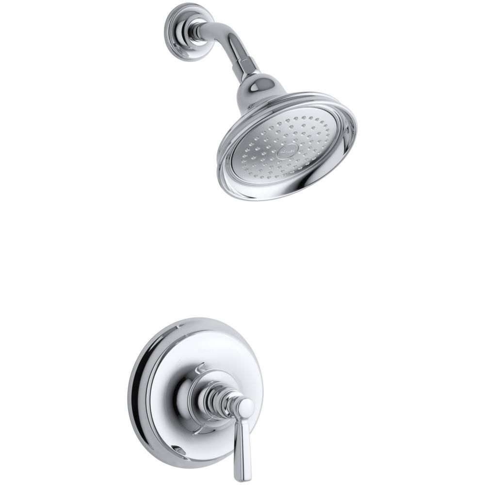 Bancroft Rite-Temp Pressure-Balancing Shower Faucet in Polished Chrome