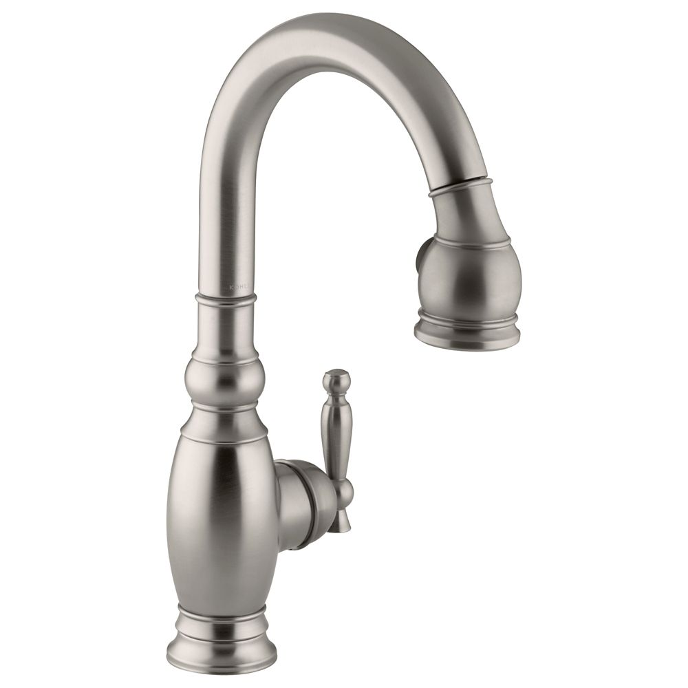 Vinnata Secondary Kitchen Sink Faucet In Vibrant Stainless