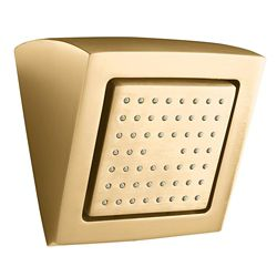KOHLER WaterTile Square 54-Nozzle Showerhead in Vibrant Brushed Bronze