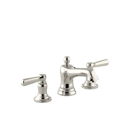 KOHLER Bancroft(R) widespread bathroom sink faucet with metal lever handles