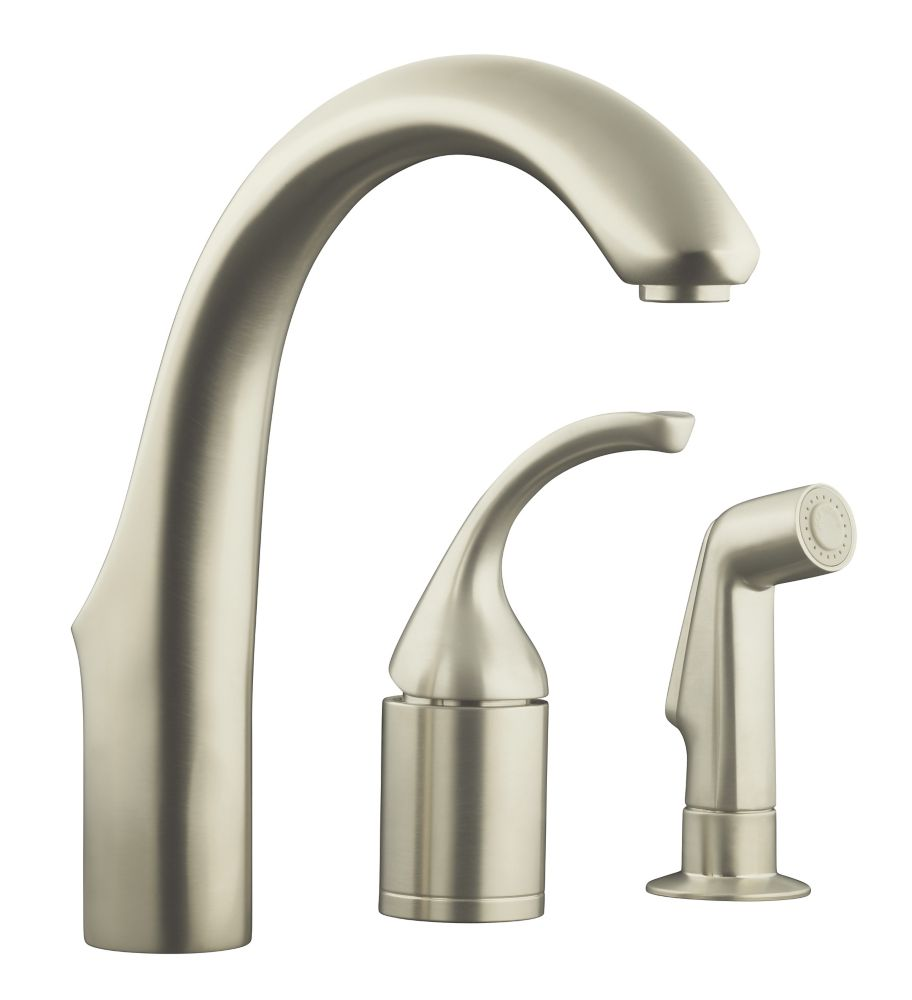 Forté Entertainment Remote Valve Sink Faucet In Vibrant Stainless