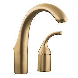 KOHLER Forté(R) two-hole bar sink faucet with lever handle