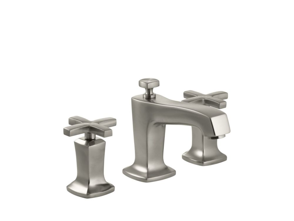 Margaux Widespread Bathroom Faucet in Vibrant Brushed Nickel Finish