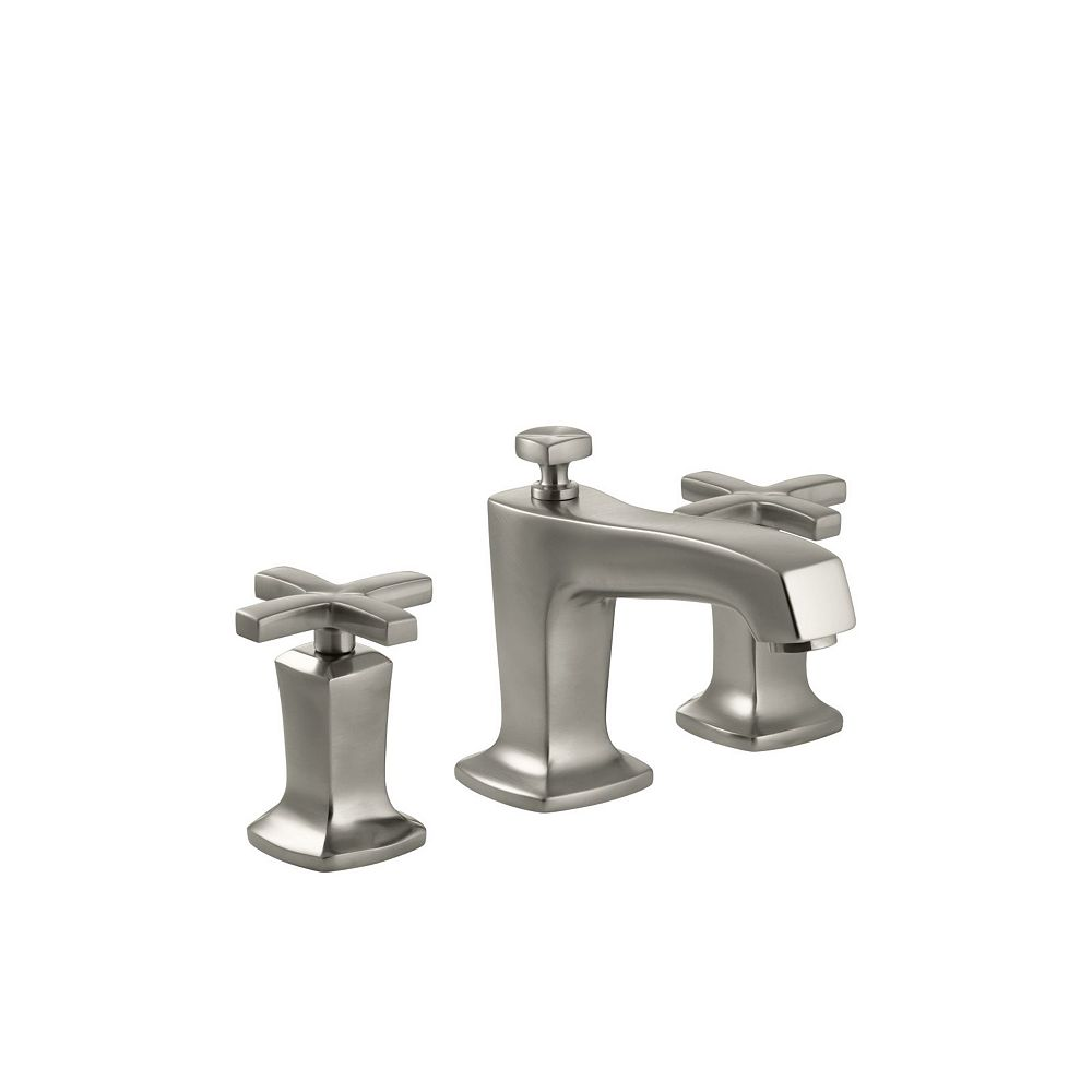 Kohler Margaux R Widespread Bathroom Sink Faucet With Cross Handles The Home Depot Canada