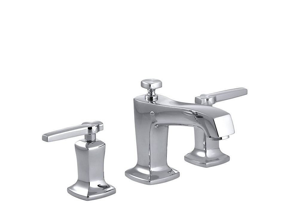 Margaux(R) widespread bathroom sink faucet with lever handles