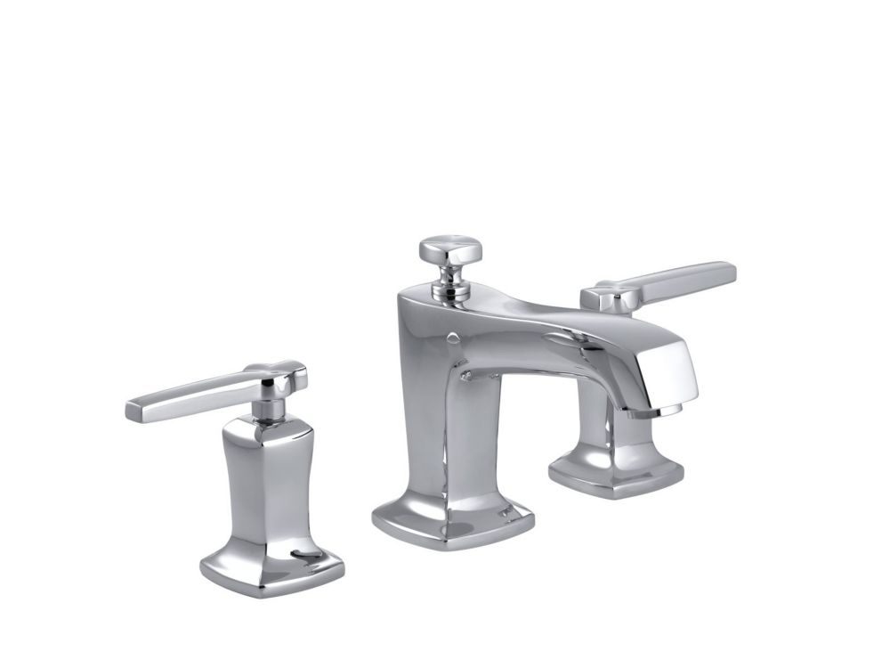 Margaux Widespread Bathroom Faucet in Polished Chrome Finish