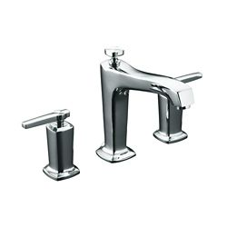 KOHLER Margaux(R) deck-mount bath faucet trim for high-flow valve with non-diverter spout
