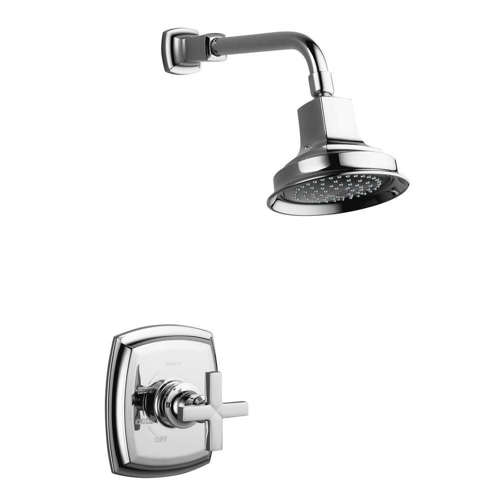 Margaux Rite-Temp Pressure-Balancing Shower Faucet in Polished Chrome