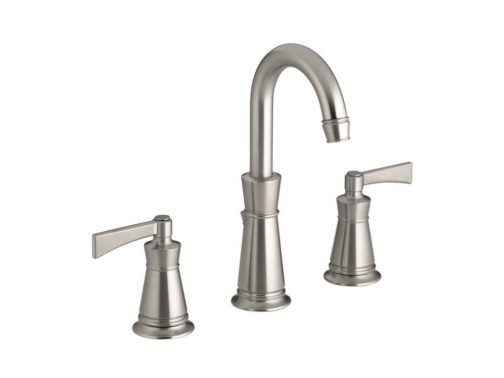 Archer Bathroom Faucet in Vibrant Brushed Nickel Finish