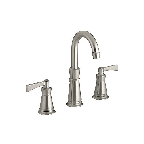 KOHLER Archer(R) widespread bathroom sink faucet with lever handles