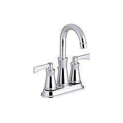 KOHLER Archer(R) centerset bathroom sink faucet with lever handles