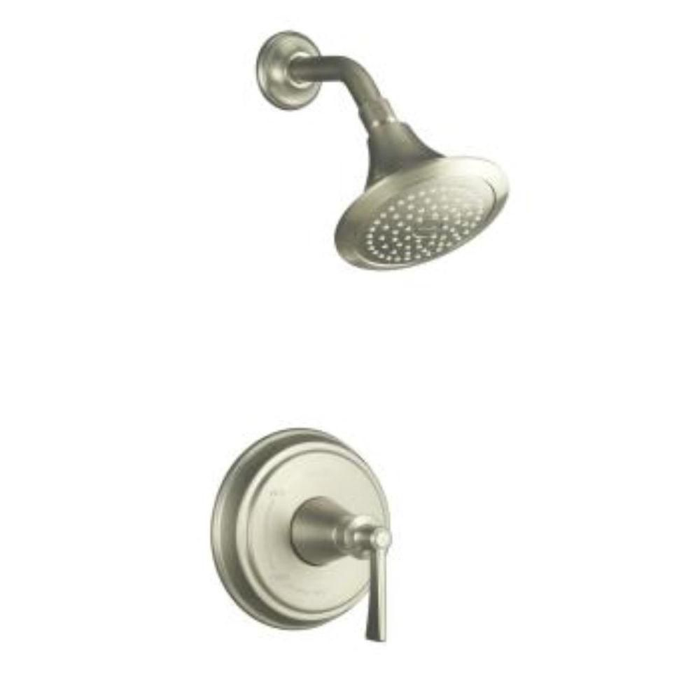 Archer Shower Faucet in Vibrant Brushed Nickel