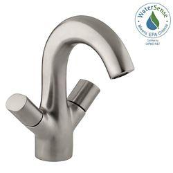 KOHLER Oblo 2-Handle Monoblock Bathroom Faucet in Vibrant Brushed Nickel Finish
