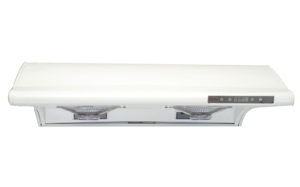 Undermount Range Hood with Rectangular Ducting in White (CY3000R)