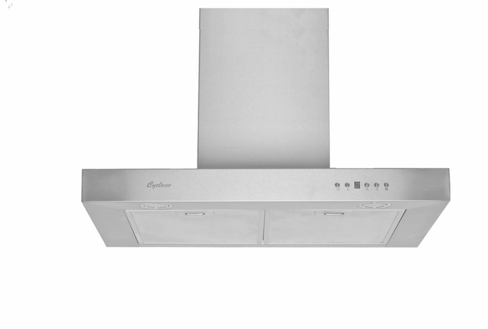 30-inch Width Wall-Mounted Range Hood in Stainless Steel