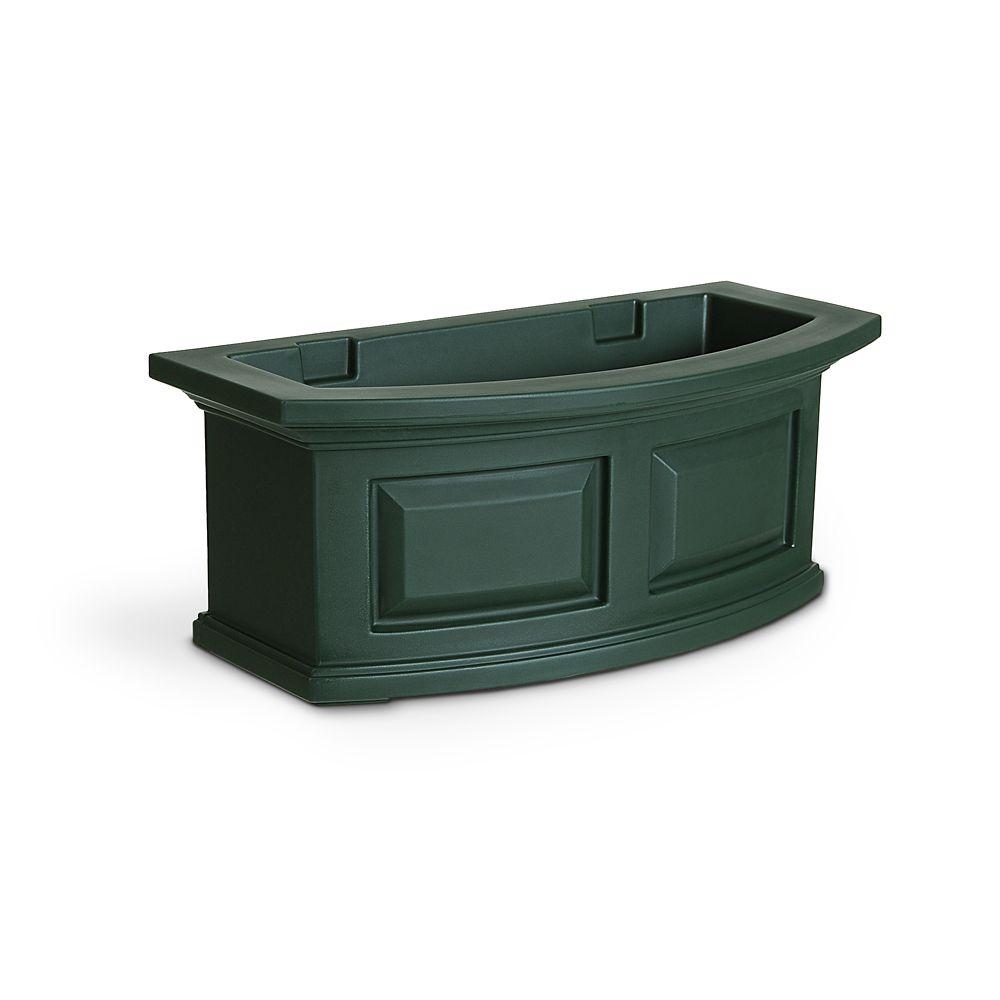 Jardinière de fenêtre Nantucket, vert, 61 cm (2 pi)