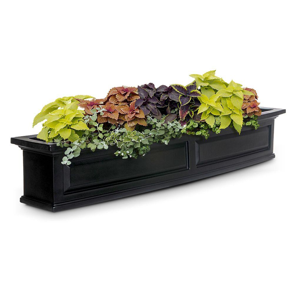 Nantucket 5 Feet Window Box Black 4832-B Canada Discount