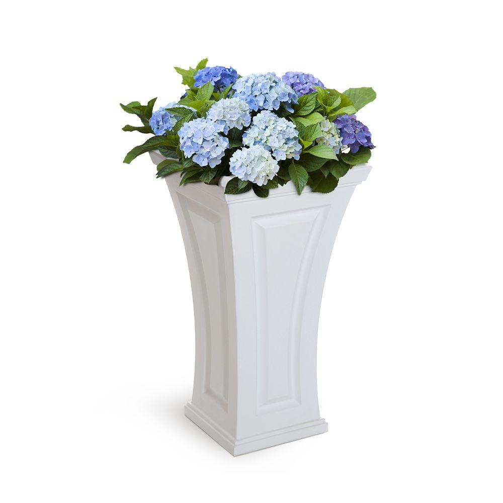 Cambridge Tall Planter White 4834-W Canada Discount