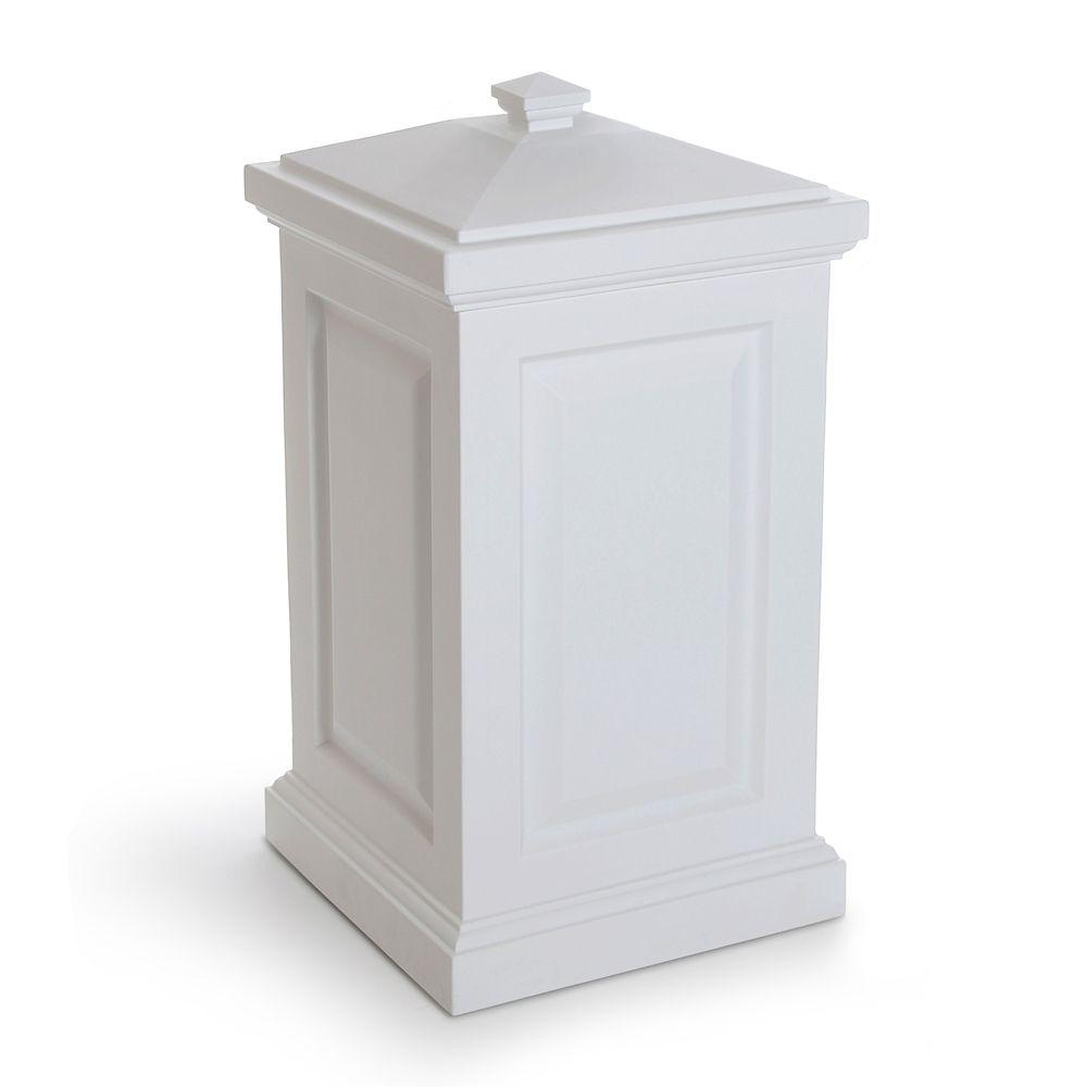 Bac de rangement Berkshire, blanc