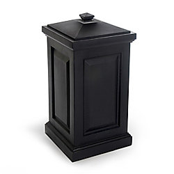 Mayne Berkshire 6 cu. ft. Outdoor Storage Bin in Black