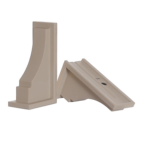 Fairfield Decorative Supports in Clay (2-Pack)