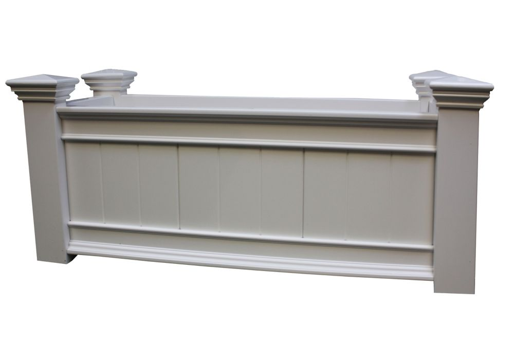 new england arbors windsor long planter box the home depot canada