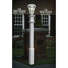 Post lights the home depot canada sturbridge lamp post mozeypictures Gallery