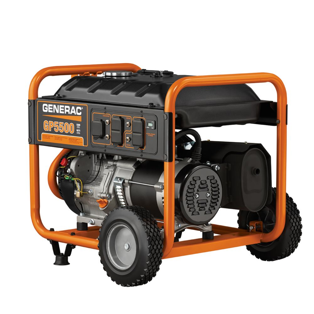 generac gp 5500 watt portable generator the home depot canada. Black Bedroom Furniture Sets. Home Design Ideas