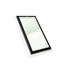 2 ft. x 4 ft. Fixed Self Flashing Clear Glass Skylight with Brown Cap - ENERGY STAR ®