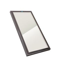 Columbia Skylights 2ft x 4ft Fixed Curb Mount LoE3 Double Glazed Bronze Glass Skylight with Brown Frame
