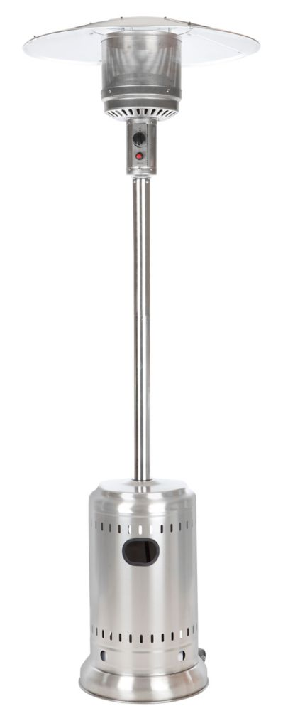 Full Size Stainless Steel Propane Patio Heater