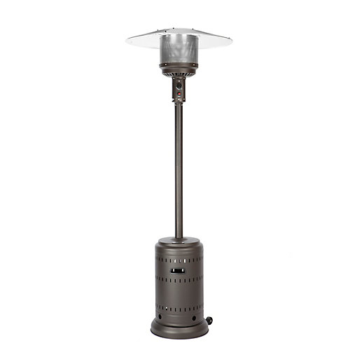 Full-Size Propane Patio Heater in Mocha